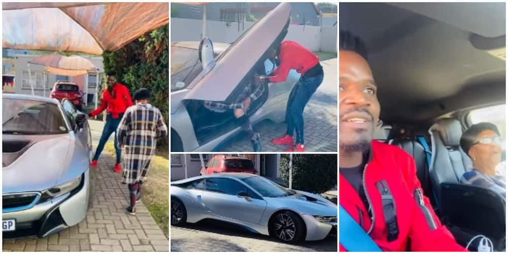 Man celebrates grandma's birthday by taking her out in a N60.7m BMW car, social media reacts