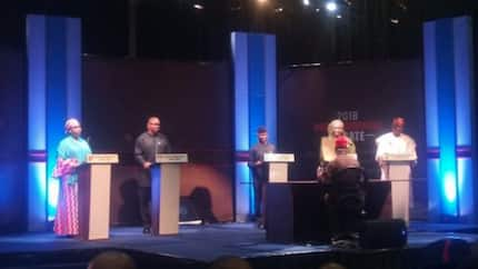 Happening now: Osinbajo, Peter Obi, others go head to head in vice presidential debate