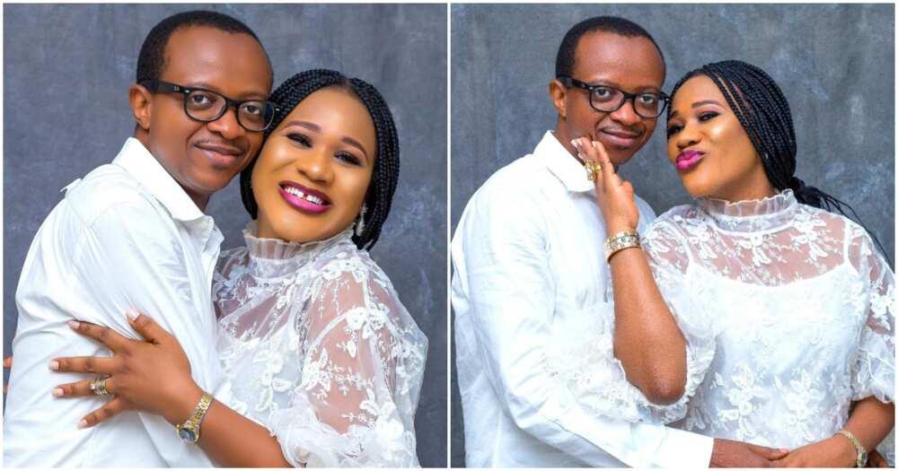 2baba's baby mama Sunmbo Adeoye and husband