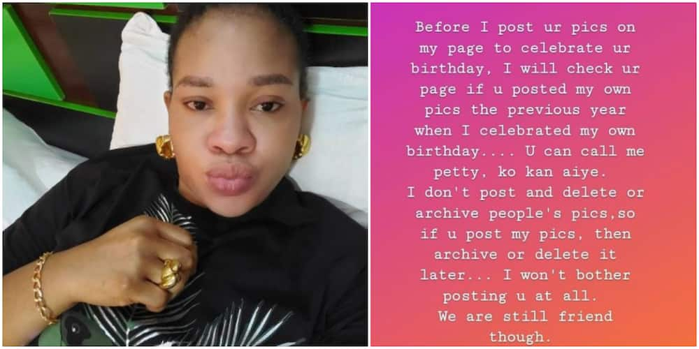Before I Post You on Your Birthday, I Will Check If You Celebrated Mine: Actress Mosun Filani Says