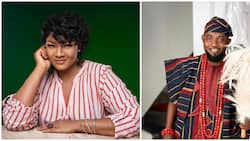 AY at 50: Omotola Jalade celebrates comedian, pens lovely birthday message in Ondo dialect, many surprised