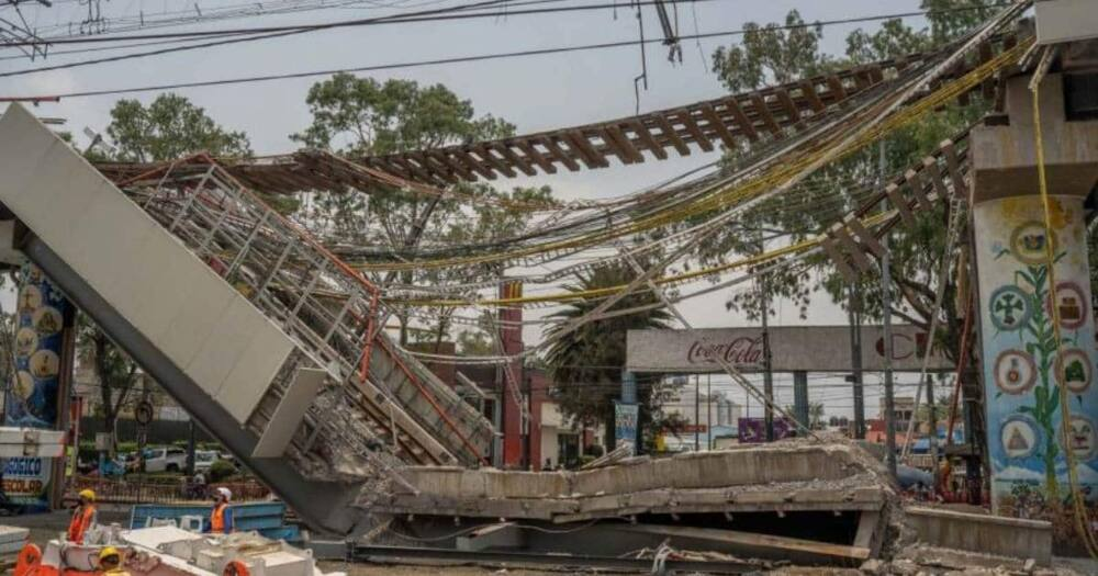 Mexican Billionaire Carlos Slim to pay for reconstruction of collapsed Mexico City overpass.