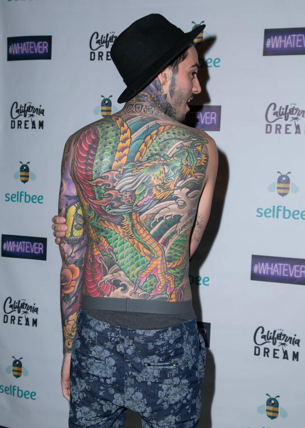 Romeo Lacoste tattoos