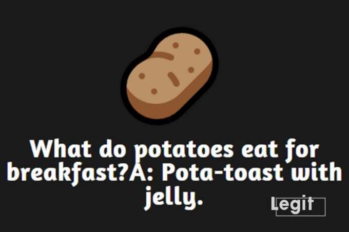 Funny potato