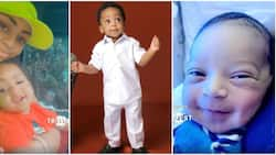 On this day a year ago I was blessed with the most precious gift: Regina Daniels gushes as son Munir clocks 1