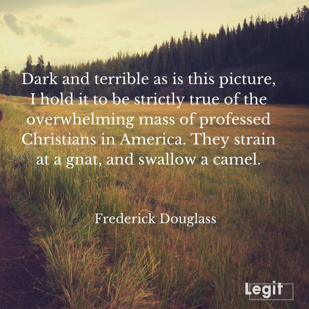 quotes from Frederick Douglass