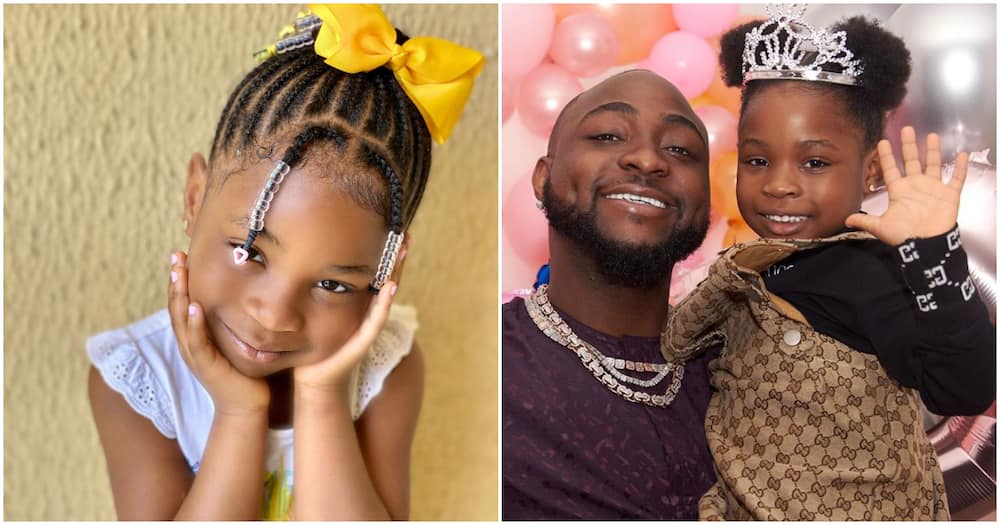 Davido's daughter Imade says she's looking forward to his forthcoming album