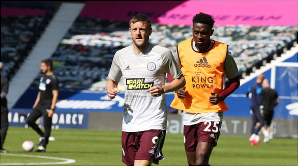 Wilfred Ndidi handed new role in Leicester's win over WBA, Vardy reacts