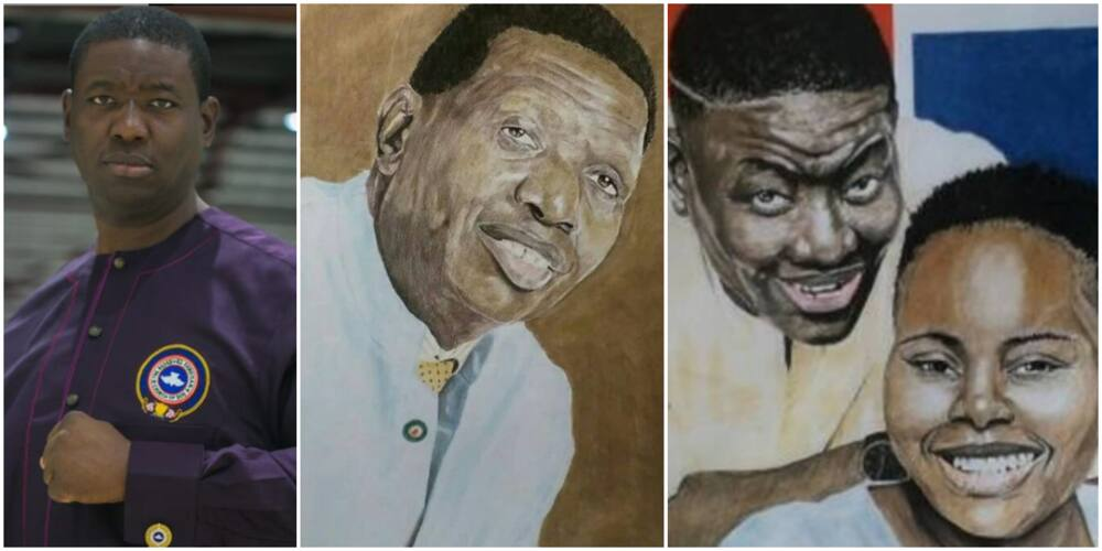 I'm Not Impressed With Copy Drawings: Pastor Adeboye's Son Reacts to Painting of Him and His Father
