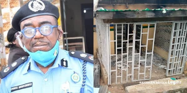 EndSARS: 6 officers killed in Oyo violence, stations burnt as police name 9 arsonists