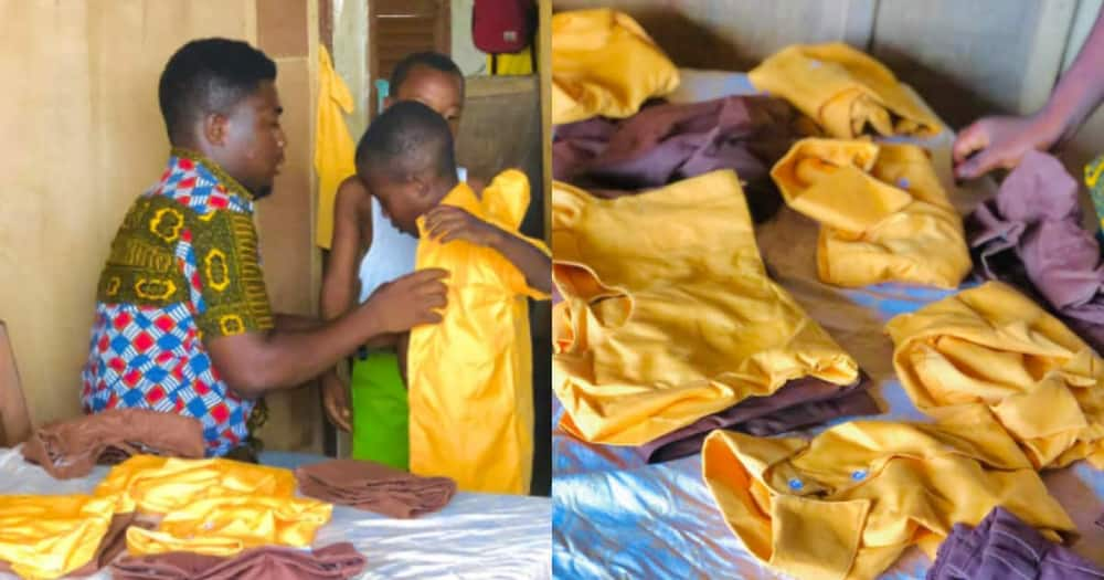 Fredrick Mensah: Ghanaian Teacher Provides Free School Uniforms for Pupils in his Class