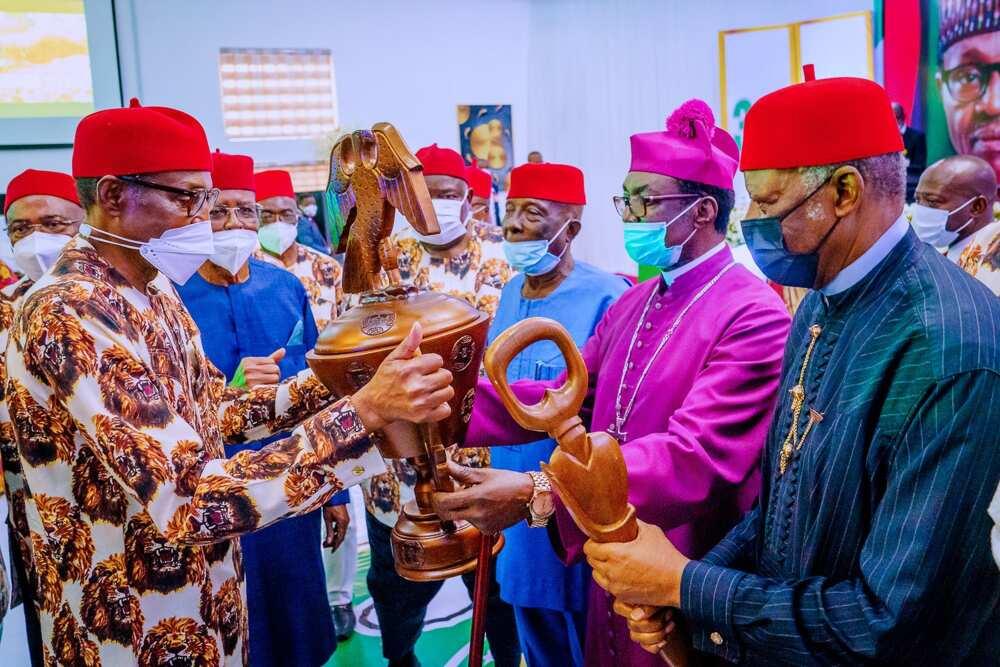 Yan kabilar Igbo ke rike da tattalin arzikin Najeriya, saboda me zasu bar kasar: Buhari