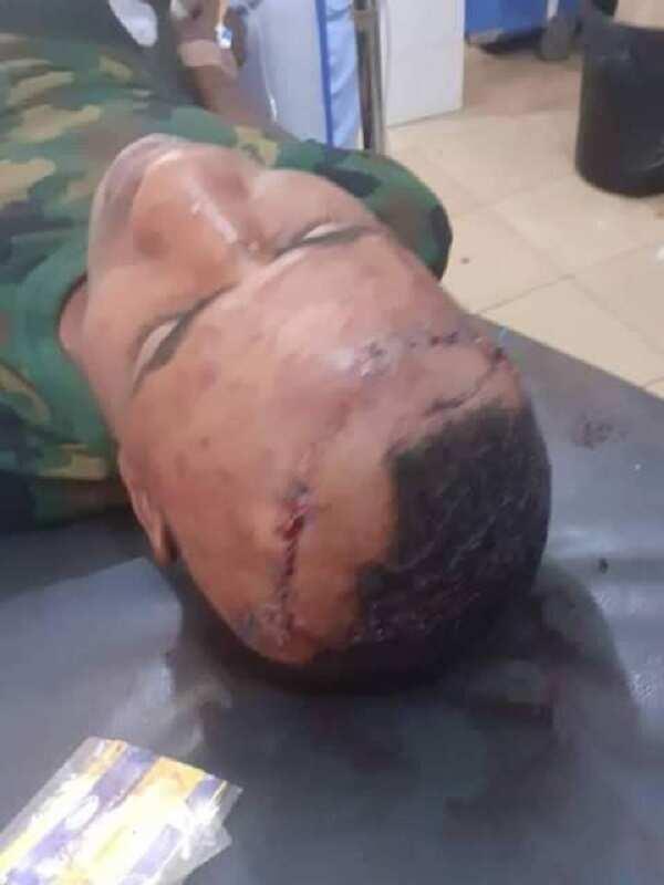 Wani sojan Najeriya ya wallafa hotunan abokan aikinsa da Boko Haram suka kashe a Maiduguri