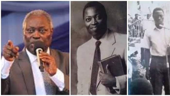 Throwback photos of pastor Kumuyi who was expelled from church in 1975 resurface as he clocks 80