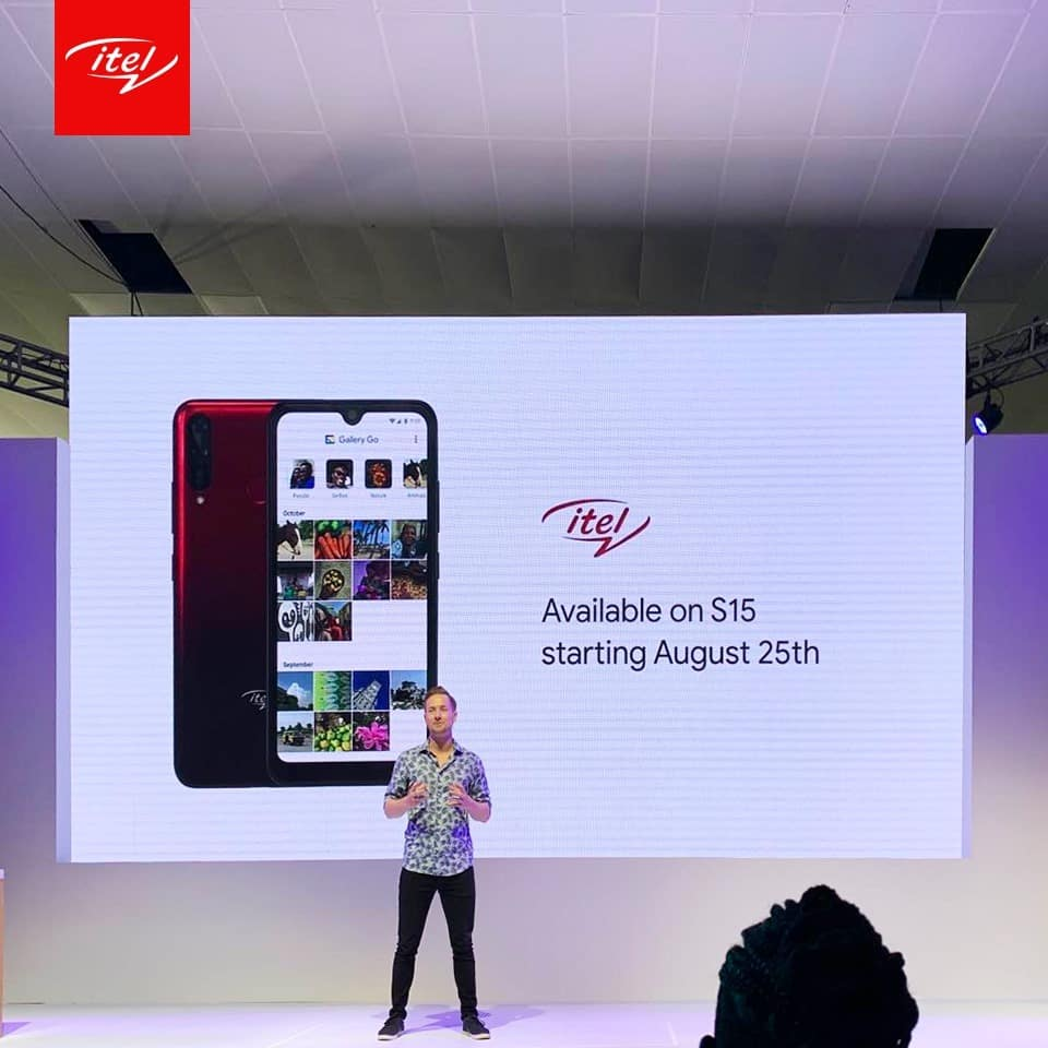 itel debuts its latest selfie series smartphone S15 with Google Gallery Go