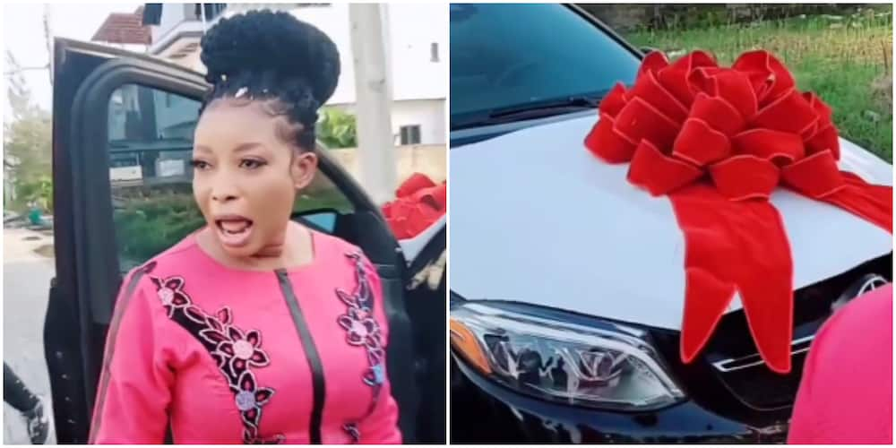 Lizzy Anjorin gets anniversary surprise