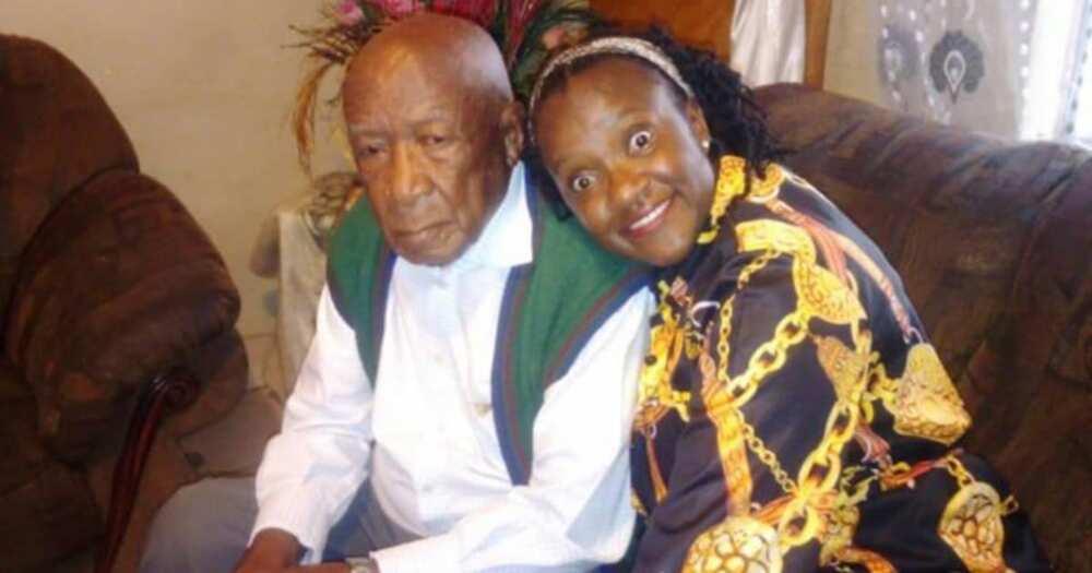 Hip hip hooray: Mzansi woman wishes dad happy 100th birthday