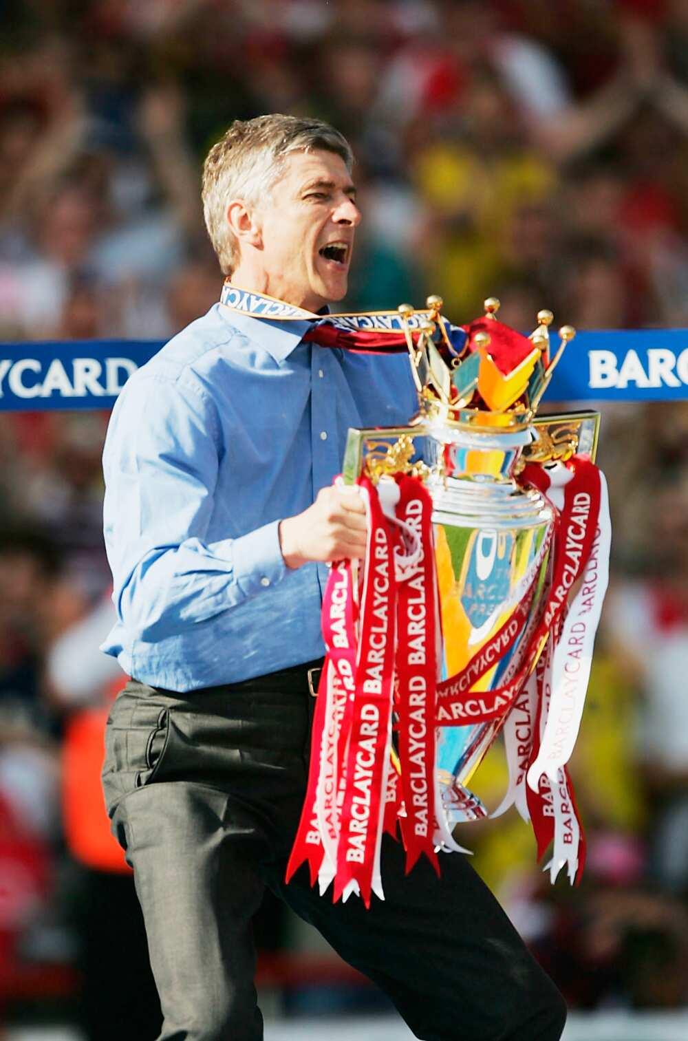 Arsene Wenger trophies