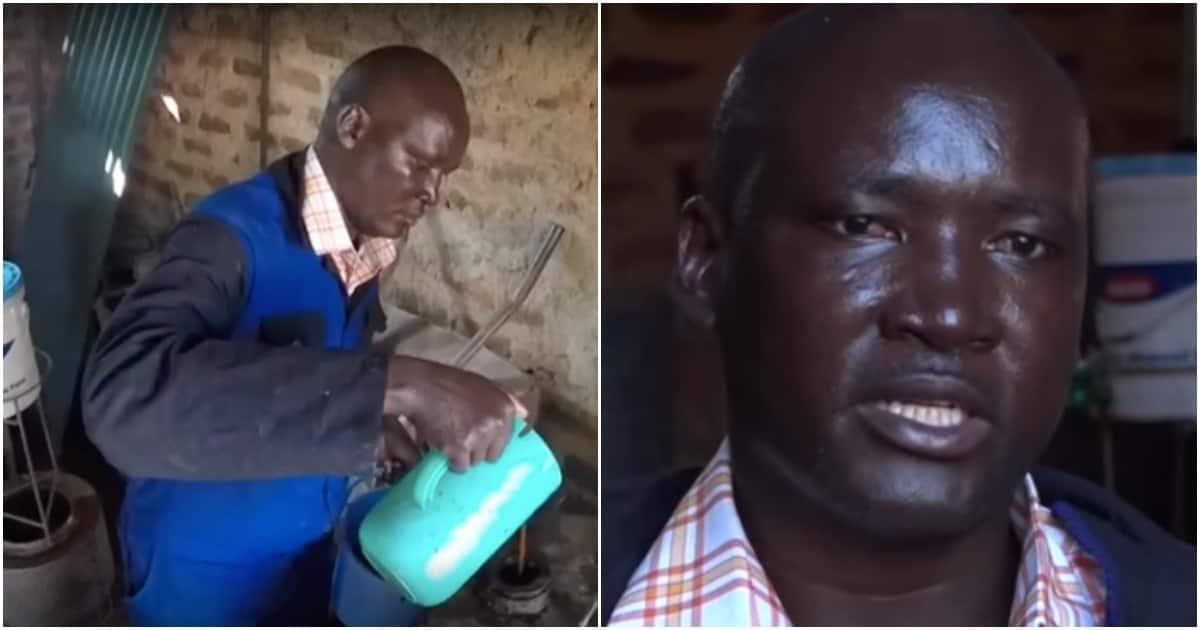 Kenyan man turns curse into cure