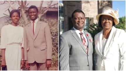 Veteran gospel act Mike Bamiloye teaches youths how to take proper pre-wedding photo