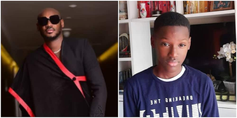 My personal lawyer: Singer 2baba celebrates as his son Zion becomes a teenager