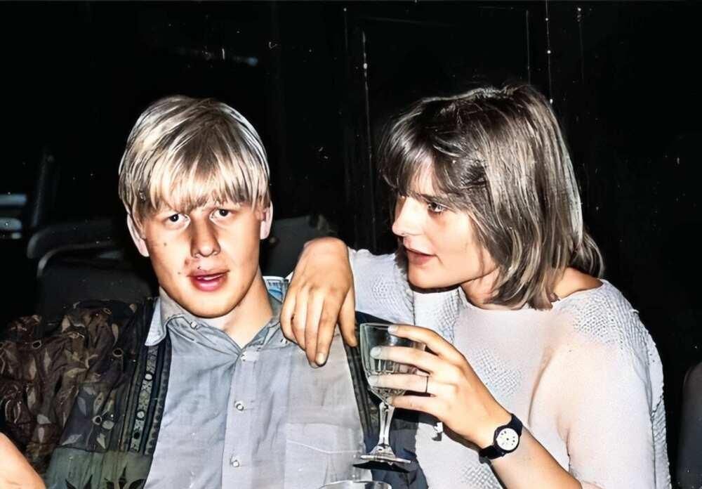 Boris Johnson's wife