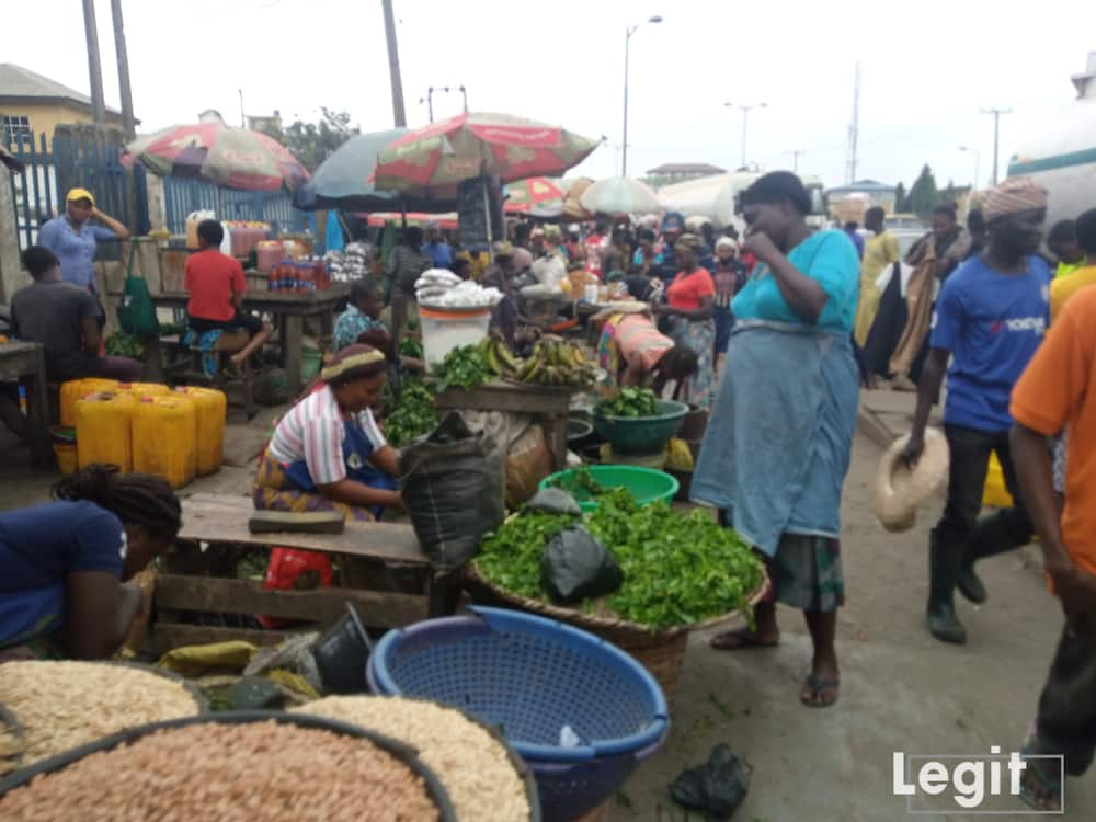 Vegetables that are in season are cheap while the ones that are almost out of season are expensive. Photo credit: Esther Odili