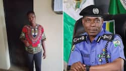 This alleged baby factory owner is in trouble as she is accused of selling children at N500k each (photo)