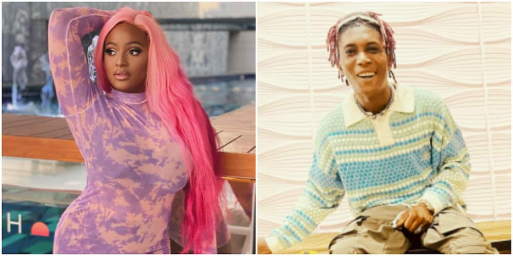 You go pay am? Nigerians react as DJ Cuppy hints at a collaboration with Bella Shmurda