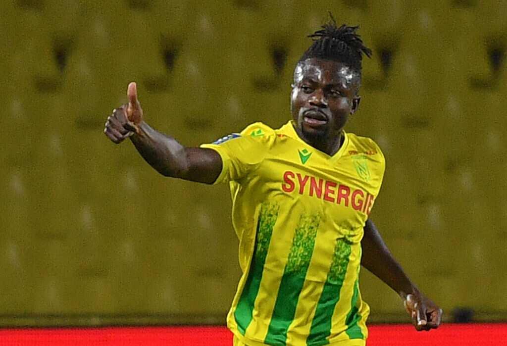 Super Eagles star Moses Simon scores in FC Nantes 2-1 defeat to Reims