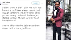 Tobi Bakre narrates saddest Valentine's Day experience, says he will show himself love this time