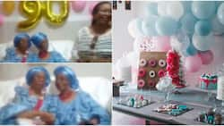 2 Nigerian women who have been friends for 80 years celebrate as one of them turns 90, they're Hausa & Igbo