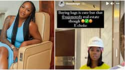 Buying bags is good, real estate choke: Tiwa Savage shows off luxurious house after intimate tape saga