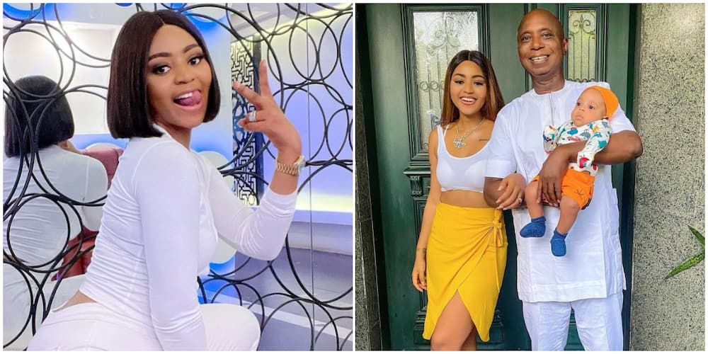 Wish Me Luck, Regina Daniels Says as She Goes in for Surgery, Husband Ned Nwoko Spotted with Her
