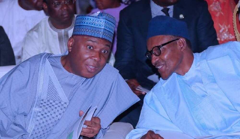PDP Za Ta Matsawa Buhari Lamba Ya Samar Da Tsaro a Nigeria, Saraki