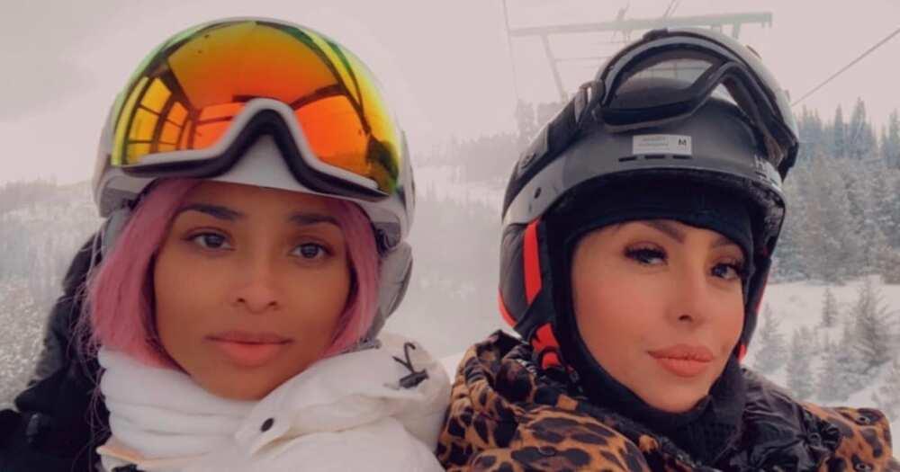 "Ciara takes Vanessa Bryant on a skiing trip: ""The slopes ain't ready"""