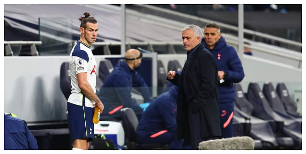 Jose Mourinho aims dig at Real Madrid after Bale scores against Brighton