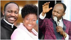 Apostle Suleman tells church members not to read bible on their phones, says it is disrespectful to God (video)