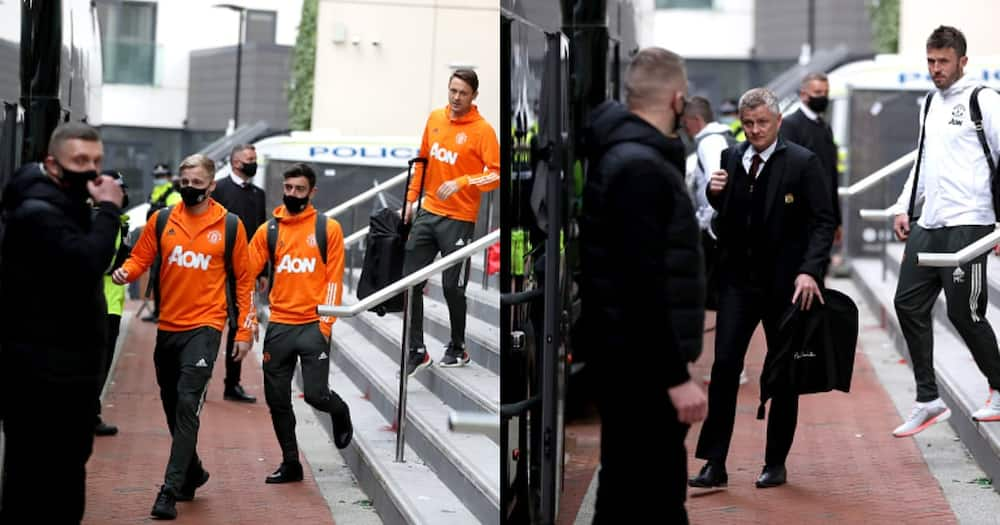 Police Escort Man United Stars from Lowry Hotel After Chaos Rocked Old Trafford