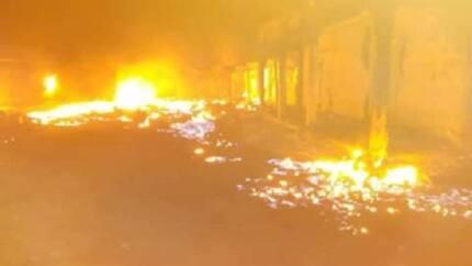 Fire guts 156 shops at Nkwo Ngwa market in Aba