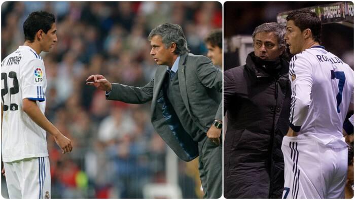 Former Cristiano Ronaldo teammate recounts heated argument between Portuguese and 'insane' Jose Mourinho