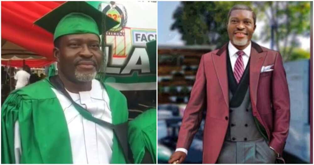 Kanayo O. Kanayo becomes a barrister after passing law school exams