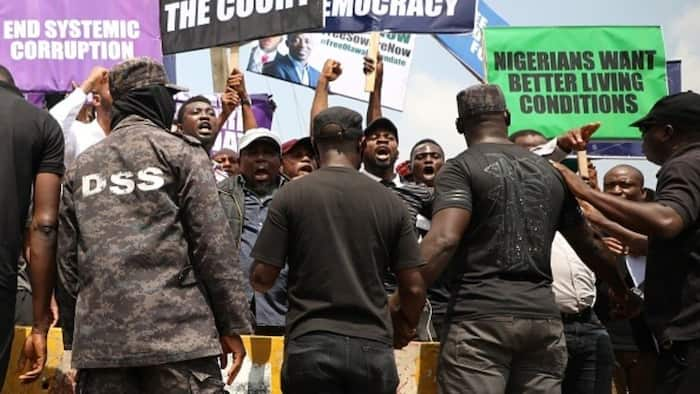 Five BuhariMustGo protesters arrested in Dunamis Church freed by SSS