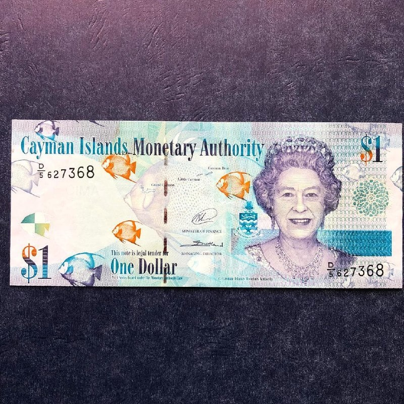 Cayman Islands Dollar on the list of the highest currencies in the world