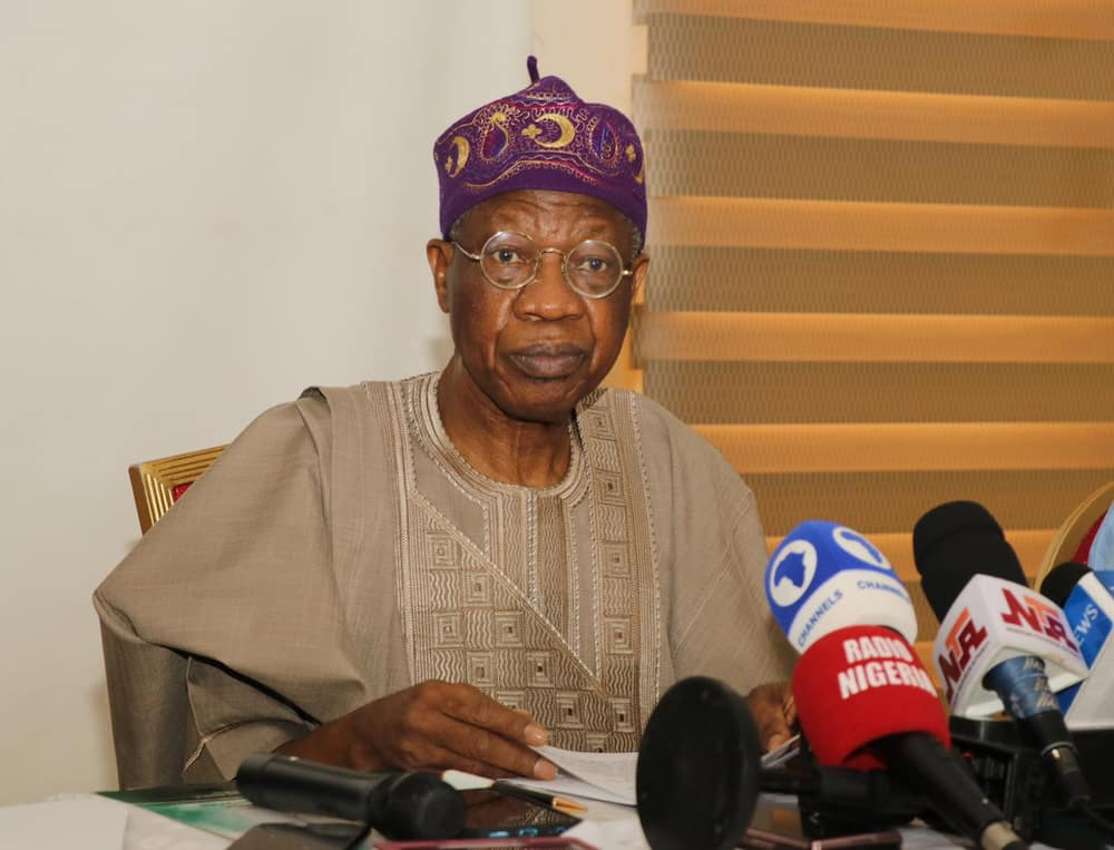Lai Mohammed Says Some Are Trying to Cause Problems in Nigeria