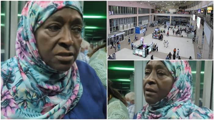 Woman complains bitterly in video after she was charged N500 to use trolley at Nigerian airport