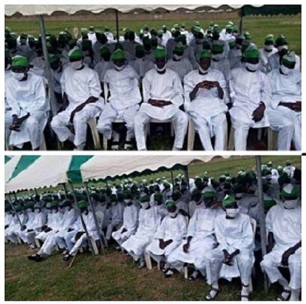 An yi bikin yaye tubabbun 'yan Boko Haram 601 a jihar Gombe Hoto daga jaridar The Cable