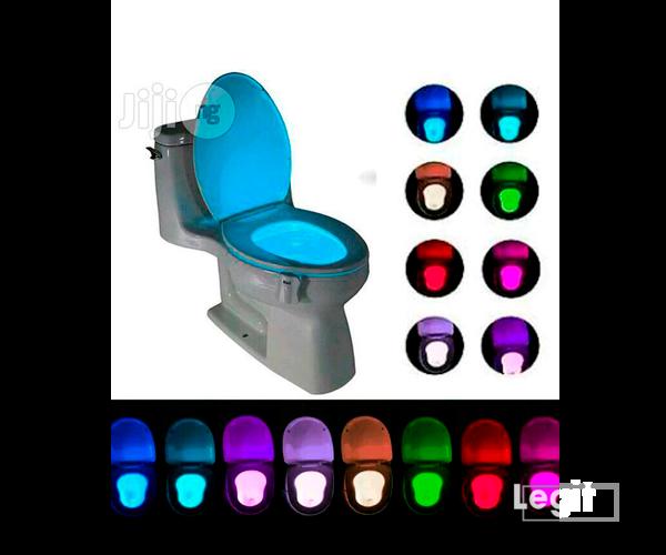 Toilet Bowl Multi-color Night Light LED