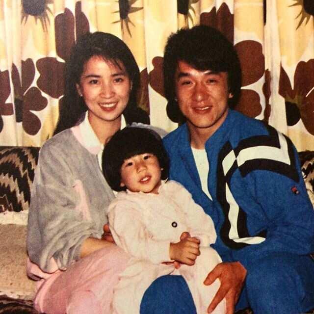 Jackie Chan wife name