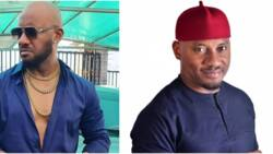 Reduce the bass of your voice: Fan begs Yul Edochie, says actor's organ spoilt his 43 inches TV